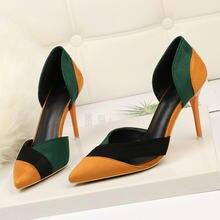 Женские босоножки; Разноцветные туфли без шнуровки из флока;