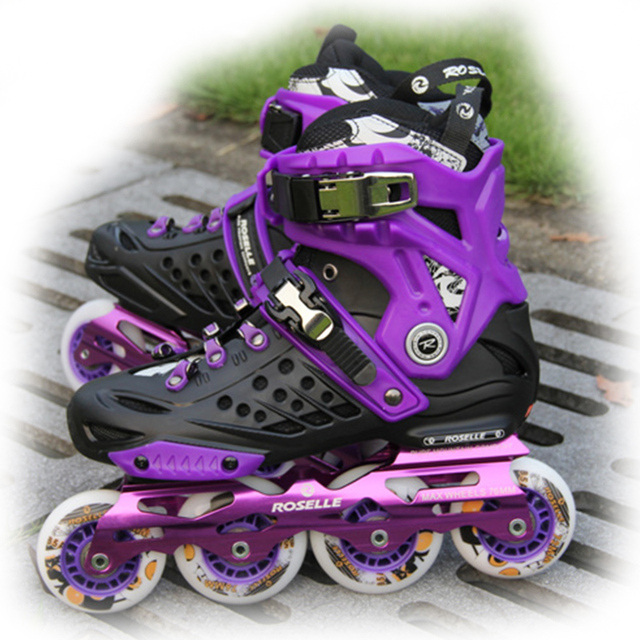 82421c41210 2018 Professional Inline Skates Roller Skating Shoes Sporting Goods Outdoor  Sports Roller Blades Ice Skating Shoes