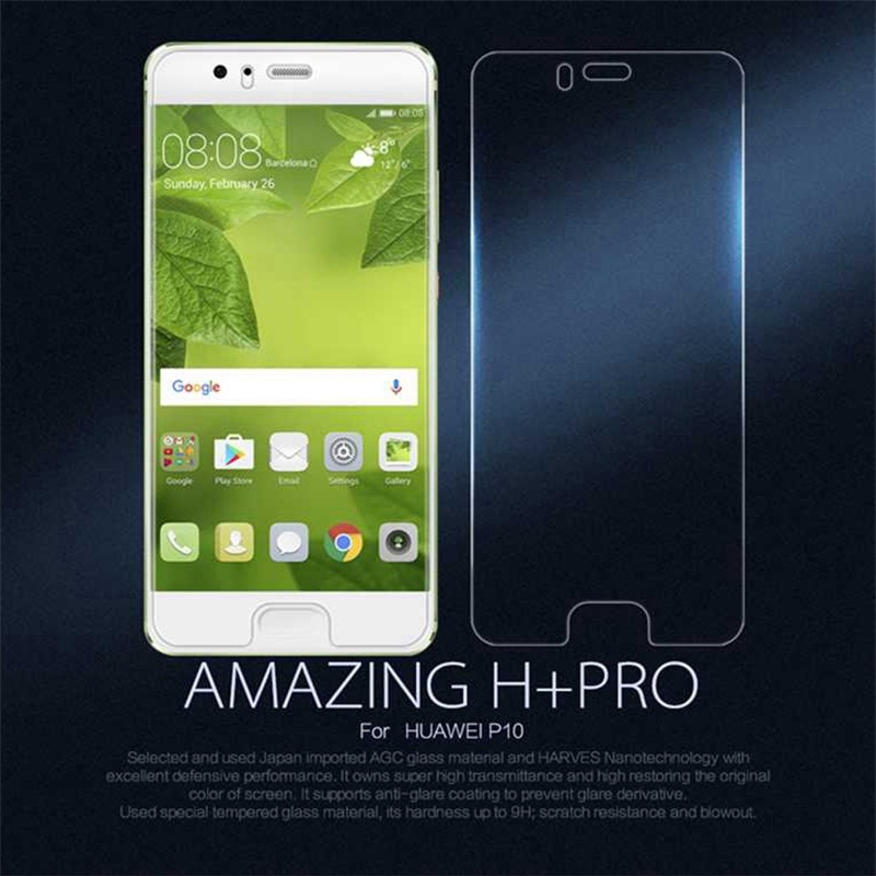 Nillkin H+Pro 0.2mm thin 2.5D Tempered Glass for Huawei P10 Screen Protector for Huawei P10 VTR-L09 Dual Sim VTR-L29 Glass Film