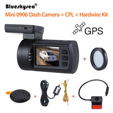 Blueskysea 0906 1080P 1.5″ LCD Car DVR GPS IMX291 Night Vision G-Sensor Camera Recorder Dashboard+CPL Lens+Hardwire Kit Dash Cam