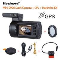 Blueskysea 0906 1080P 1.5 LCD Car DVR GPS IMX291 Night Vision G Sensor Camera Recorder Dashboard+CPL Lens+Hardwire Kit Dash Cam