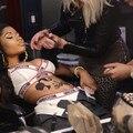 2017 Nicki Minaj Мода Женщины Bralet Бюстгальтер Бюстгальтер Бюстье Растениеводство Топы Beyonce Топы Корсет Clubwear Femininas Хип-Хоп Танец Костюм