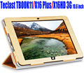 For Teclast TBOOK11 / X16 Plus /X16HD 3G 10.6 inch Case Luxury PU Leather Flip cover tablet pc Stand Case For X16HD TBOOK11 TL12