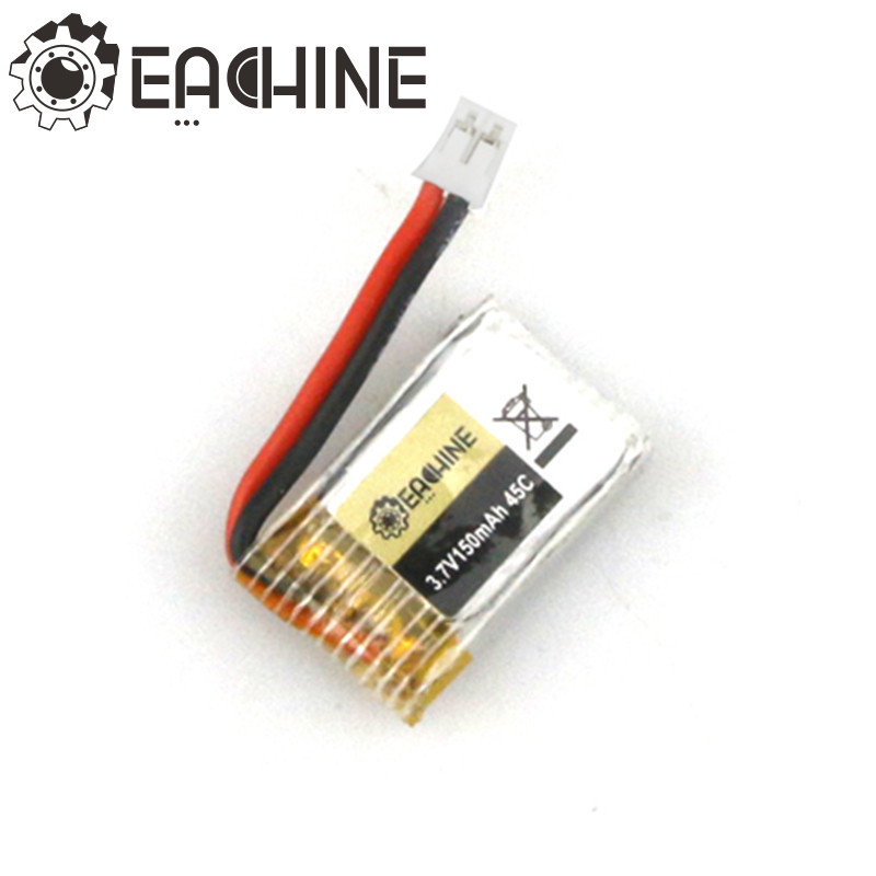 New Arrival Eachine E010 JJRC H36 RC Quadcopter Spare Parts 3.7V 150MAH 45C Upgrade Battery new arrival eachine e30w spare parts camera for rc toys models quadcopter accessories
