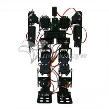 RC Toy 17DOF Humanoid Biped Robotic Educational Robot Kit Servo Bracket with MG996R Servos & Controller for Arduino DIY