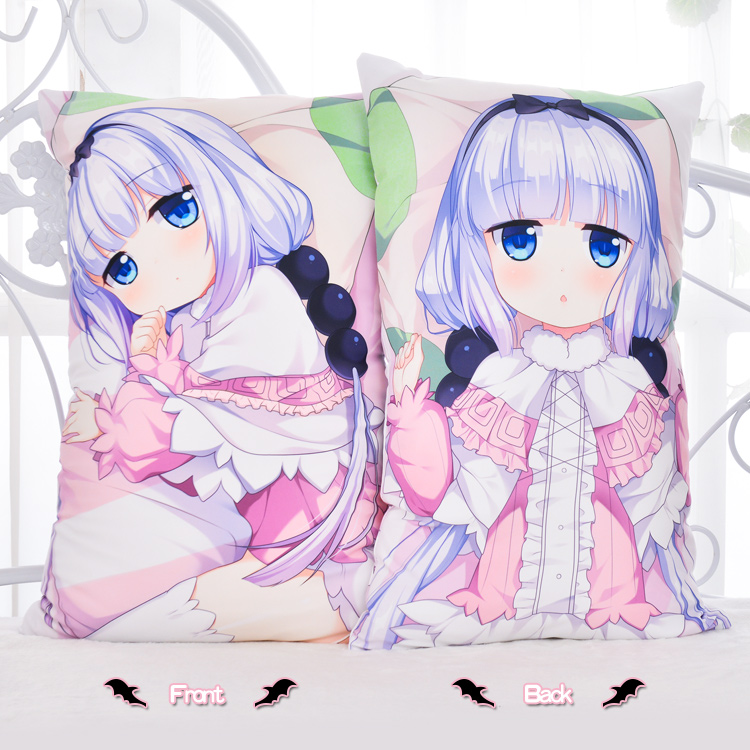 Miss Kobayashi/'s Dragon Maid Quetzalcoatl Dakimakura Hug Body Pillow Case Cover