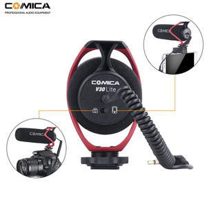 Image 2 - Comica CVM V30 LITE Video Microphone Condenser Volgging Recording Mic for Canon Nikon Fuji DSLR Camera,Microphone for Smartphone