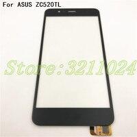 100% テスト 5.2 インチ Asus Zenfone 5 3 最大 ZC520TL X008D デジタイザタッチスクリーンパネルセンサーレンズガラスの交換