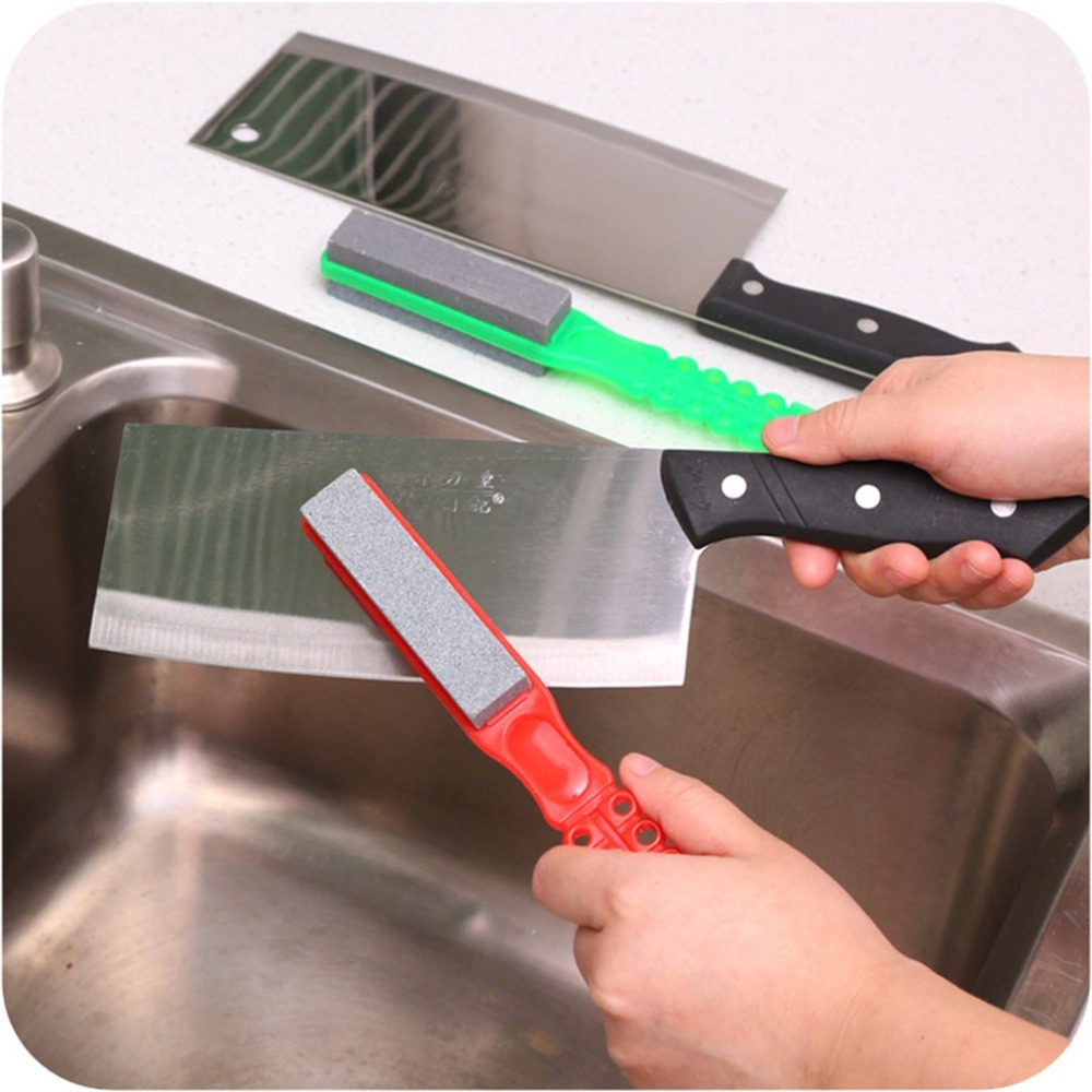 Sharpener-Stone Knife Diamond Scissors Pocket Knives Single/double-Sided Handheld
