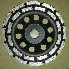 """"""" двухрядный алмазный шар шлифовальные круги для шлифовки мрамора, гранита и бетона 150 мм* 22,23 мм"""