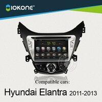 IOKONE Android 4 2 2 Car DVD Player For Hyundai Elantra 2011 2012 2013 With GPS