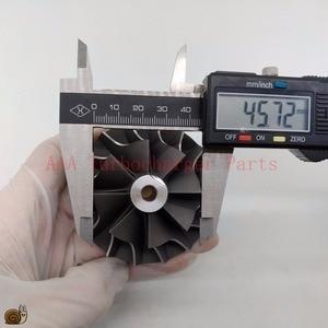 Image 5 - T04B/T04E Turbo części koło sprężarki 45.8x70mm, ostrza 8/8 dostawca AAA części turbosprężarki