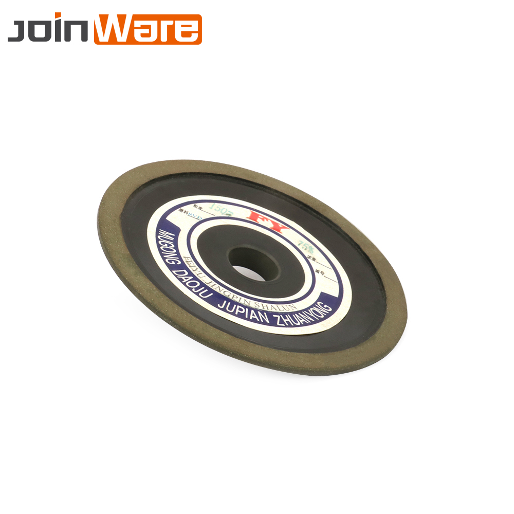 100MM Bakelite Resin Diamond Grinding Wheel Disc Rotary Abrasive Tools Carbide Metal Steel 150 Grit 16MM Bore 10MM Thickness New lathe 25mm thickness 120mm x 25mm abrasive flap disc wheel