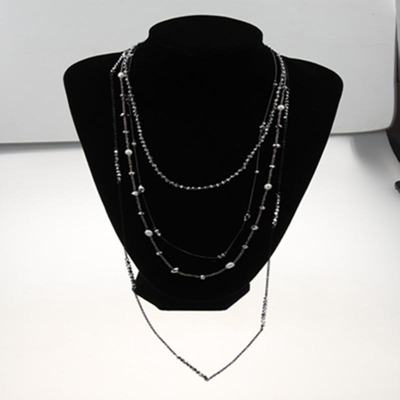 I SHOW Ali Store NO. 66 Fashion Multilayer necklaces colgantes mujer moda necklace collier ethnique colier bijoux femme collier sautoir long necklace