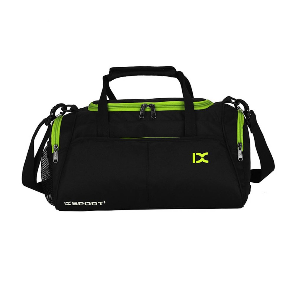 Large Capacity Outdoor Sports Bag Traveling Luggage Handbags Shoulder Bag Waterproof Polyester For Fitness Training Gym Yoga ...
