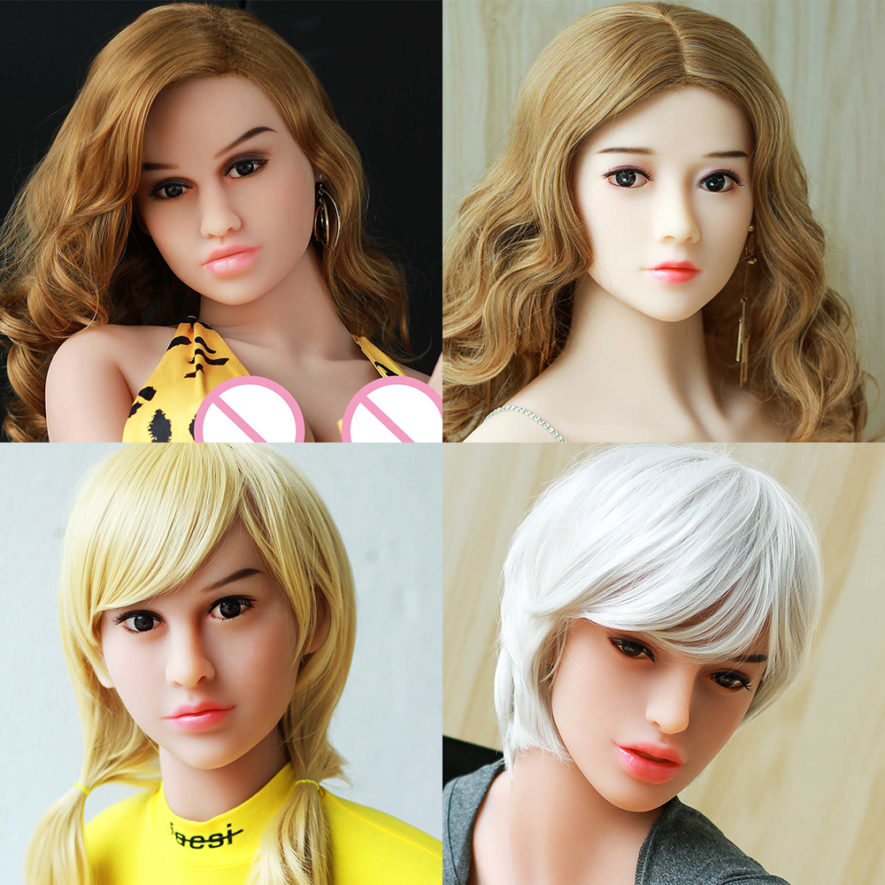 Hanidoll Sex Dolls Head for doll Height 140cm~170cm Real silicone Love Doll Heads With Oral New Sex Toys For Men sex dolt heads цена