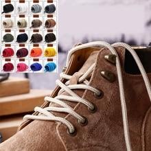 1 пара ботинок на шнуровке, полиэстер, одноцветные классические круглые шнурки, повседневные спортивные ботинки, обувь на шнуровке, длина 90 см/120 см/150 см