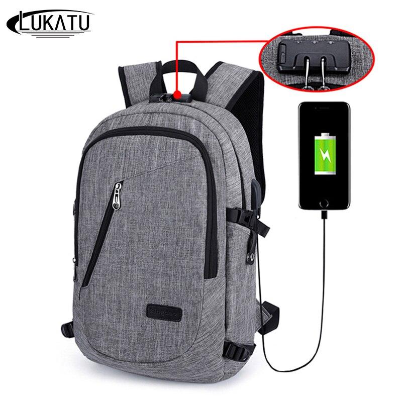 Aliexpress Com Buy Lukatu Men Backpack Anti Theft