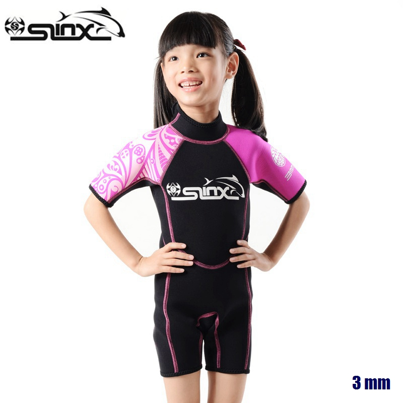 SLINX Boys Girls Neoprene Swim Special Offer Children 39 s Wetsuit Surfing Snorkeling Kids Diving suit Swimwear Super Markdown in Wetsuit from Sports amp Entertainment