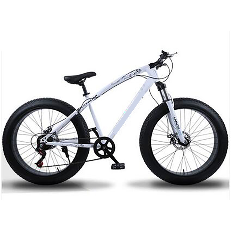 Aluminum Alloy Mountain Bicycle For Men And Women 24 Inch Cross Country Beach Snowmobile 4.0 Super Large Wheel Double Disc Brake