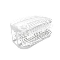 Мягкая модная Силиконовая зубная щетка u-образной формы для чистки 360 градусов, портативная мини-портативная безрукавка для рук