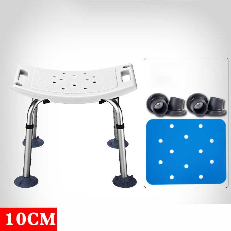 Ark duş sandalyesi Yaşlı Banyo duş oturağı Tuvalet Sandalyeleri Düşük Ayakkabı Tabure Hamile Kadınlar Spa Tezgahı Uygun Banyo Sandalye
