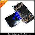 Бесплатная Доставка + 100% протестированных 4.8 'Super AMOLED Для Samsung Galaxy S3 neo i9300i i9301 i9308i ЖК Планшета Ассамблеи с кадр