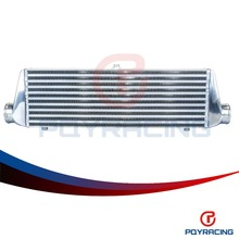 PQY RACING- 550*180*65mm Universal Turbo Intercooler bar&plate OD=2.5″ Front Mount intercooler PQY-IN812-25