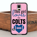 This Girl Loves Colts Case for iPhone 5 5S  6/6s/7 Plus and Case for Samsung Galaxy Note2 3 4 5 7 S4 S5 S6 Edge Plus S7 Edge