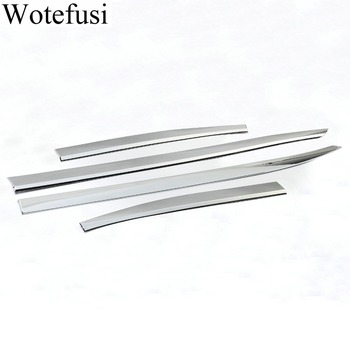 Wotefusi 4 ŀ�クロームサイドドア敷居成形カバー本体 2016 2017 Â�ープ Renegade [QPA500]