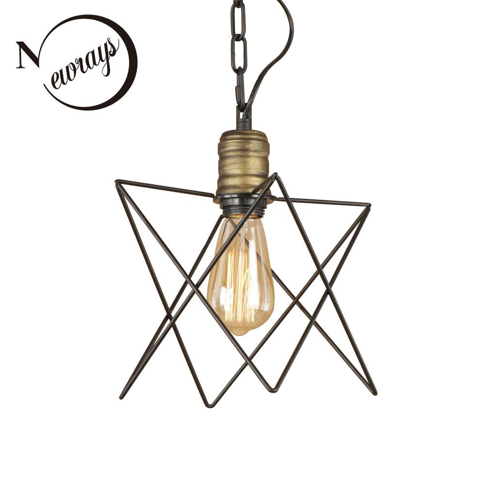 Vintage iron painted minimalist irregular pendant Light Fixture E27 LED 220V hanging lamp for kitchen bedroom living room office vintage colorful minimalist cement hanging pendant lamp 220v e27 led light with switch lighting fixture for hallway bar bedroom