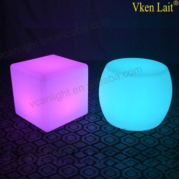 8 PCS/lot 20*20*20 cm Couleur Changeante lumière LED waterproof Cube VC-G2020 - 6