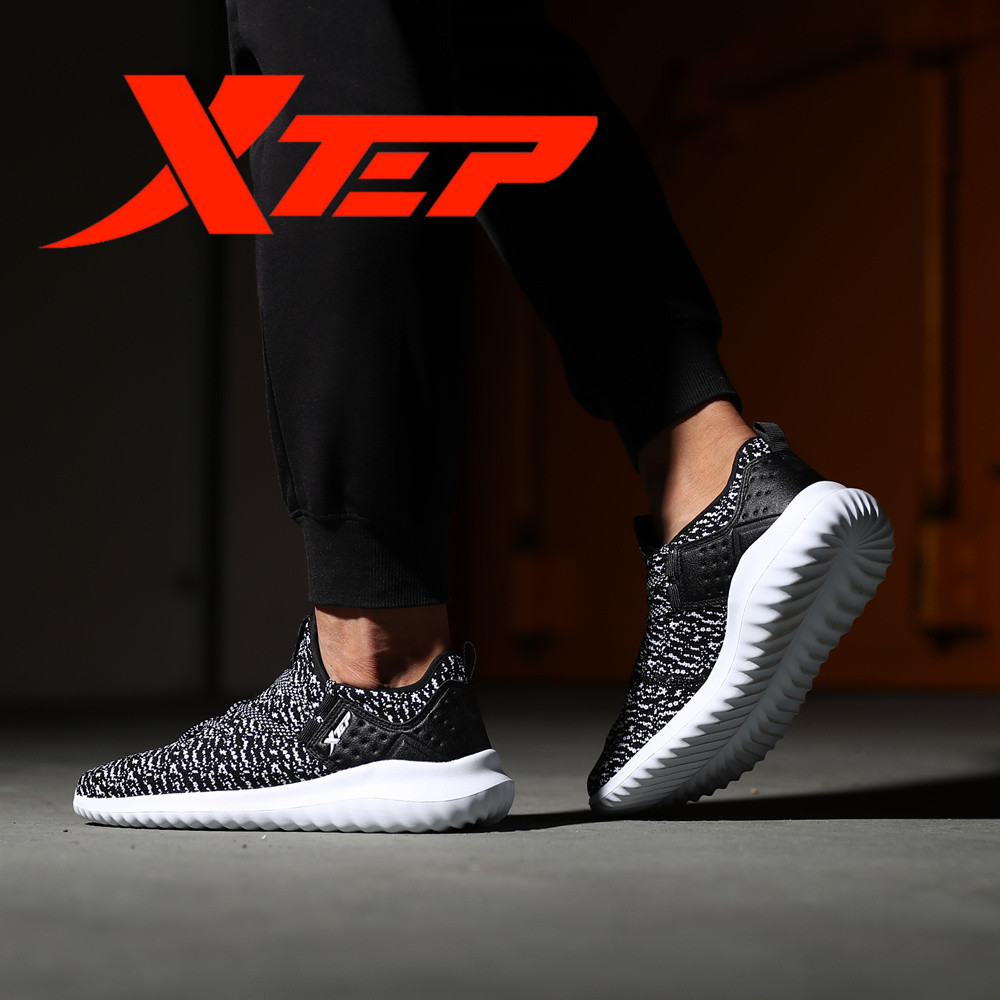 XTEP Men's women's Sneakers Cross-Country Trail Breathable Running Shoes Sports Shoes for Men women free shipping 983319119202 free shipping candy color women garden shoes breathable women beach shoes hsa21