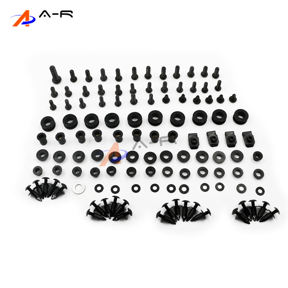 Fairing Bolts Nuts Fastener Clips Screws Washer Kit For