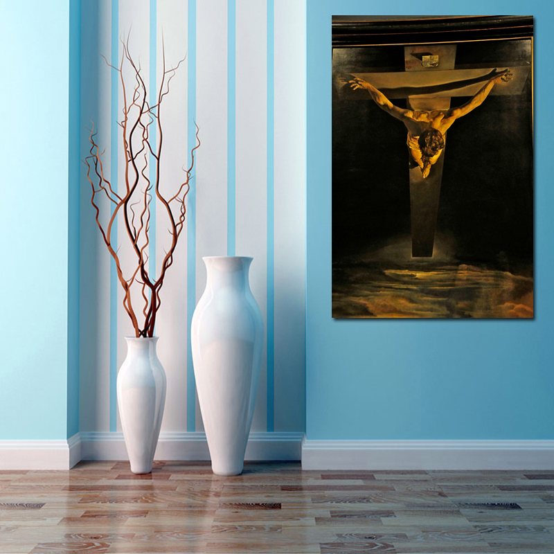 HD Canvas Print Painting Salvador Dali Gogh Christ of Saint John of the Cross