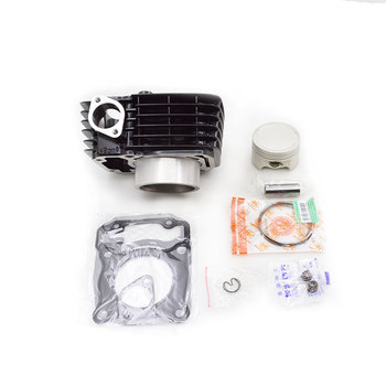2sets/lot High Quality Motorcycle Cylinder Kit For Honda XR150 CBF150 XR CBF 150 150cc Engine Spare Parts
