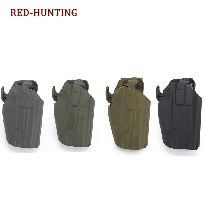 Accesorio de pistolera de clip de pistola para cinturón táctico para Glock 19,23,38,P225,H & K 45C,USP Compact, pistola P30 para caza, pistolera de polímeros