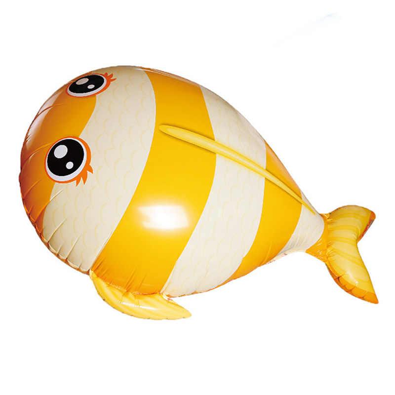 Пульт дистанционного управления летающая игрушка Дельфин синяя Желтая рыба воздушные шары с гелием аэроплан с радиоуправлением Дрон НЛО лучший рождественский подарок