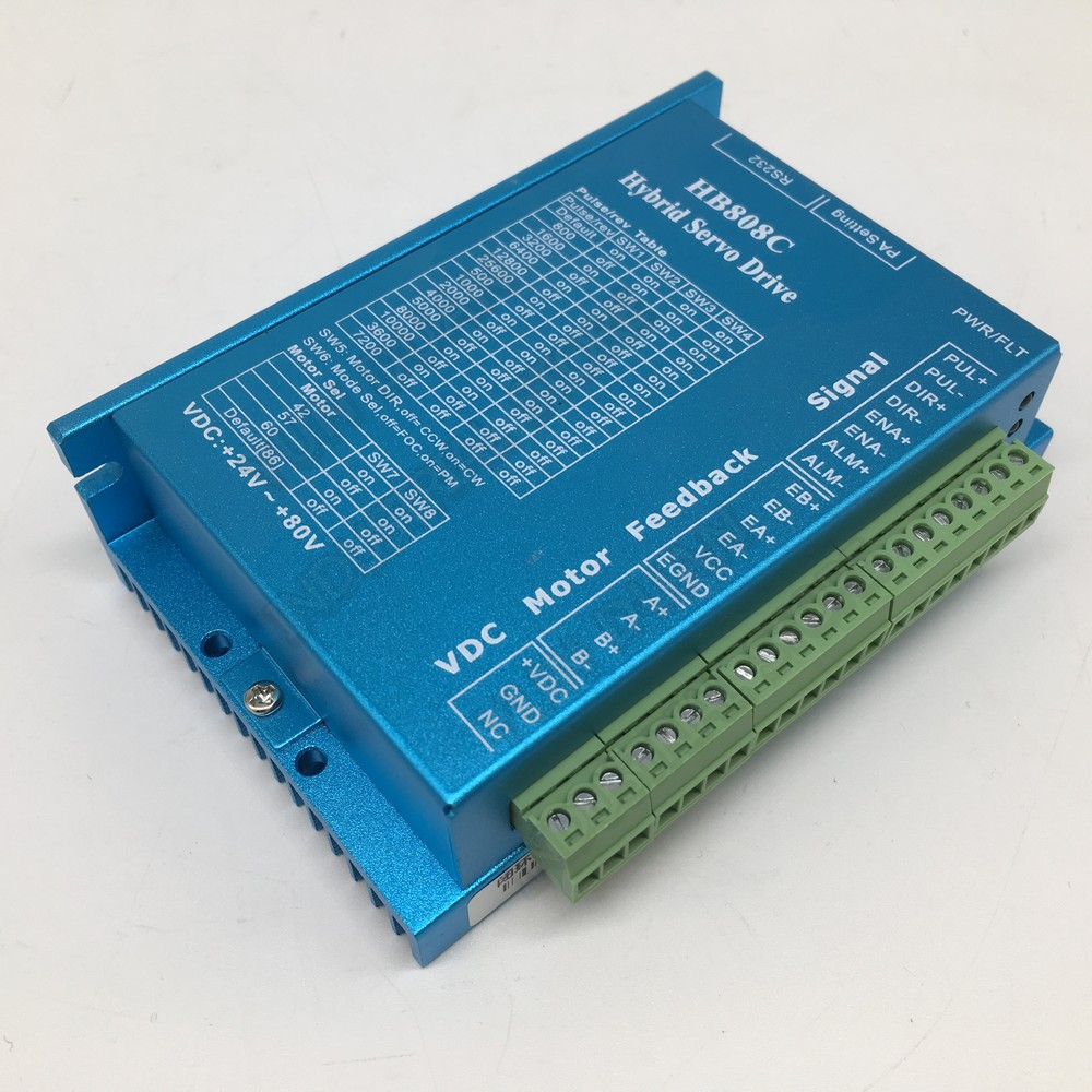 1.5Nm 214Oz.in Nema23 57MM DC DSP Closed Loop Stepper Motor Driver Cables Kits With Hybird Encoder Easy Step Servo for CNC