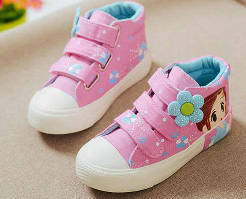 2019 autumn new!!girls sneakers floral