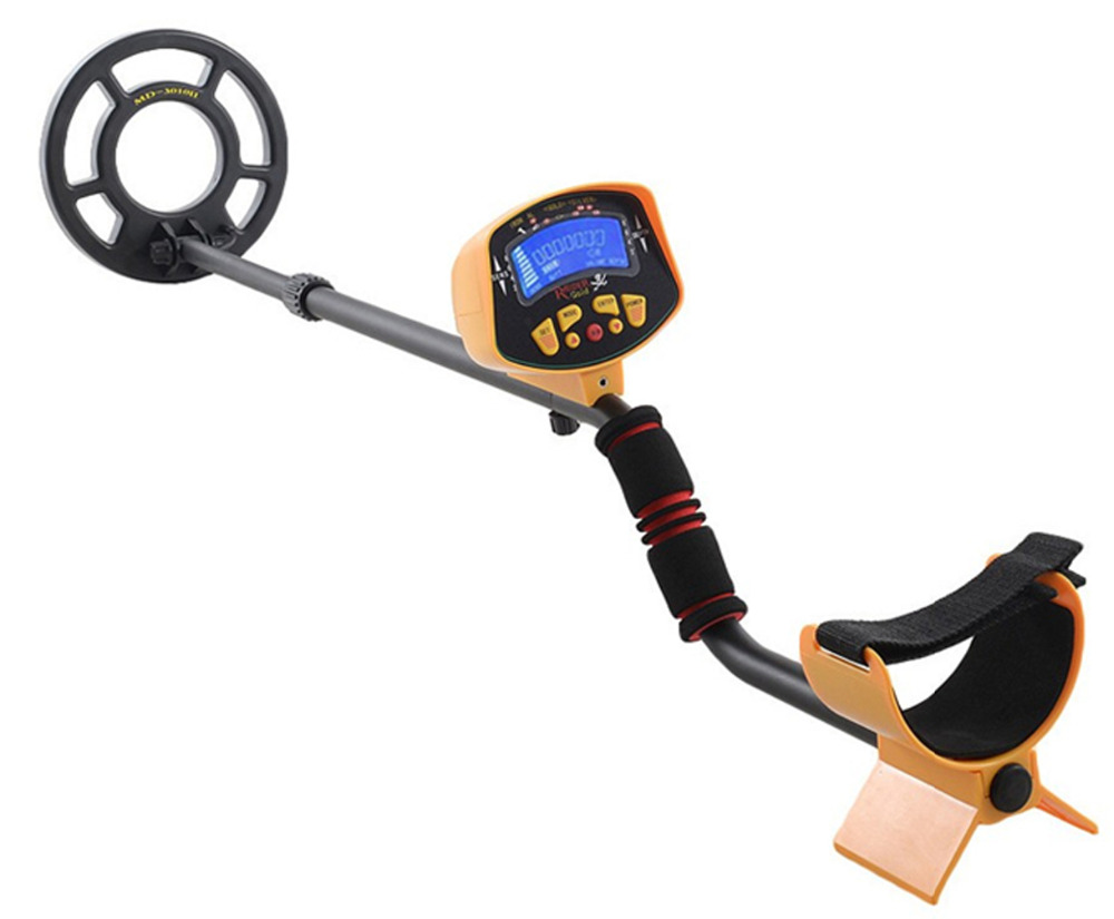 Professional Metal Detector MD3010II Gold High Sensitivity and LCD Display MD-3010II Treasure Hunter