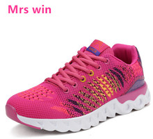 2017 new women men running shoes zapatillas mujer sneakers trainers breathable walking mesh run jogging sport shoes
