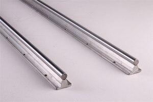Image 5 - 2pcs SBR20 200 2000mm Linear Guide Rail SBR20 Linear Bearing Blocks for CNC parts 20mm Linear Rail