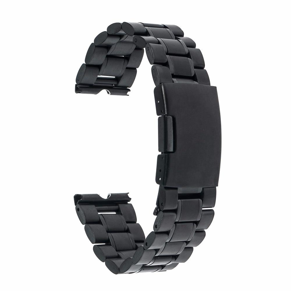 22mm Edelstahl Uhrenarmband Metall Uhrenarmband Armband für - Uhrenzubehör - Foto 2