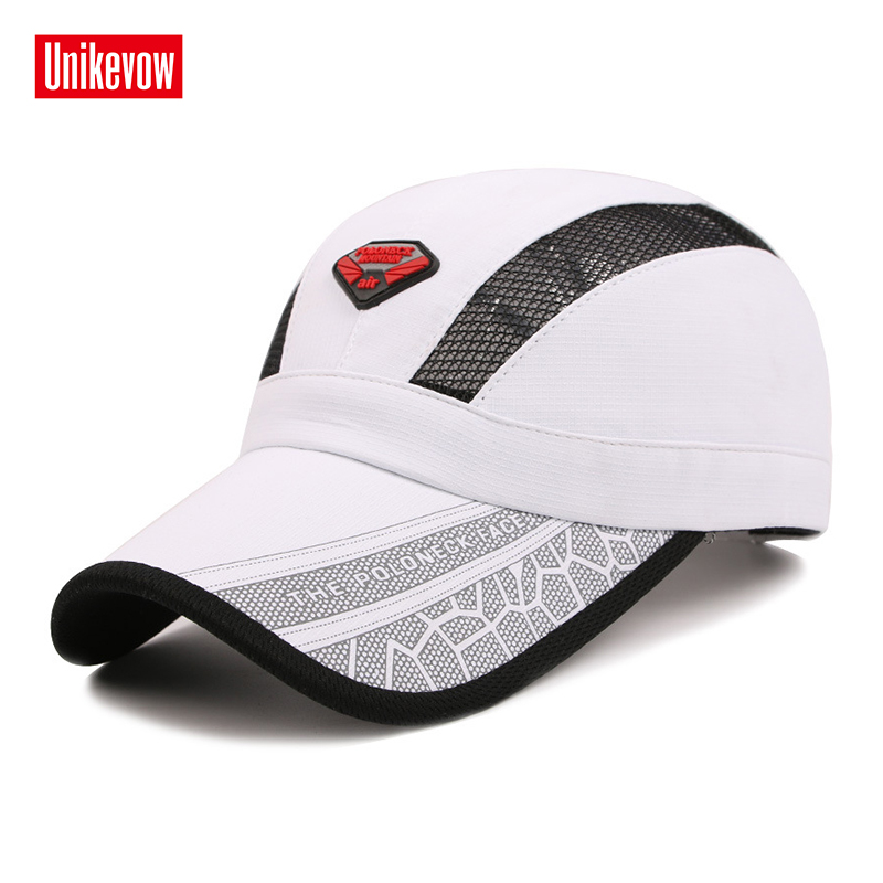 Snabbtorkade sommarbaseballhattar med glänsande tyg Hatt för män - Kläder tillbehör - Foto 3
