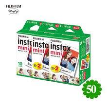Fujifilm Instax Mini Film White Edge 50 Sheets Film For Fuji Instax mini 8 9 7s 25 50 90 SP1 Instant Camera Photo Film Paper