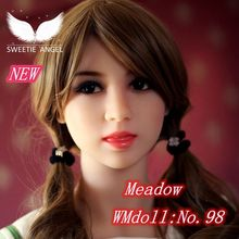 WMdoll No 98 Cutey girl face ORAL doll HEAD sex doll s head only head For