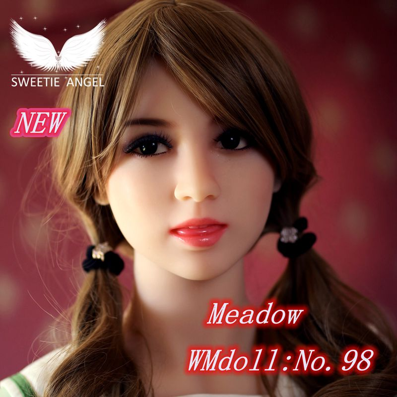 WMdoll No 98 Cutey girl face ORAL font b doll b font HEAD font b sex