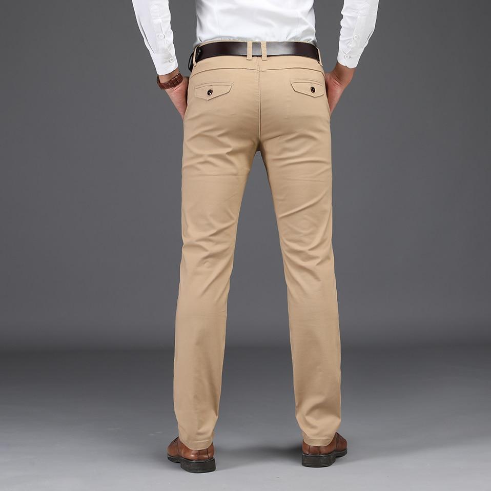 HTB1Fg0CXiHrK1Rjy0Flq6AsaFXa2 NIGRITY 2019 Men Pants Casual High Quality Classics Fashion Male Trousers Business Formal Full Length Mens Pants