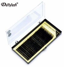 ALL SIZE 20 ROWS/TRAY Individual Eyelash Extension High Quality Natural False Mink Eyelash Extension 7 To 15mm Mix Free Shipping